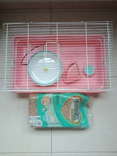 Hamster L size Cage pet bedding