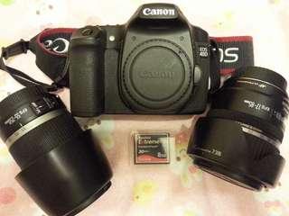 Canon 40D, EFS 17-85, EFS 55-250, 8G CF card