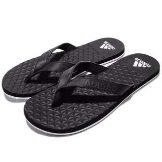 adidas Performance Eezay Soft Thong Black White Men Sandal Flip-Flops BB0507