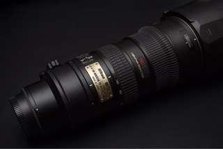 Nikon 70-200mm f2.8 VR1