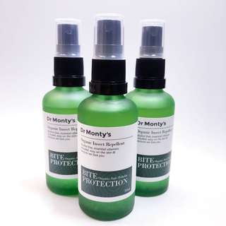 Doctor Montys 100% Organic Insect / Mosquito Repellent