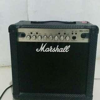 MARSHALL MG15CFX guitar amplifier