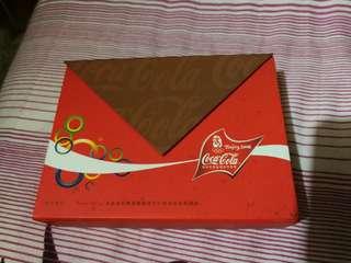 2008北京奧運可口可樂coca cola pins 襟針