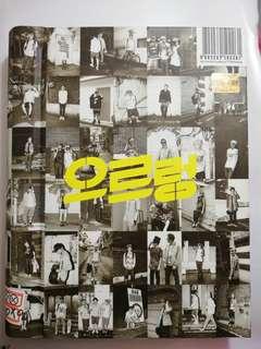 EXO 第一張專輯「XOXO」(韓國進口重新包裝Kiss版)