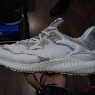 Adidas alphabounce x kolor white