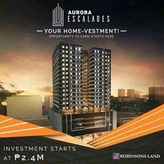 Affordable Condominium in Aurora Blvd Cubao for as low as 7k per month