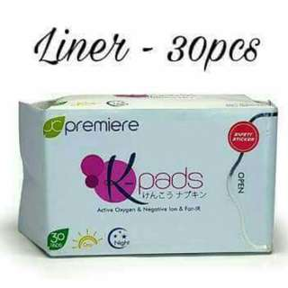Kpads Panty Liner  30pads
