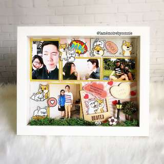 Personalised 3D Photo Frame (Doca Comic)
