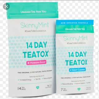 Skinnymint 14 Day Teatox