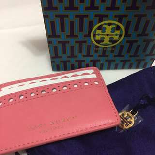(Full) Tory Burch card case holder #pink