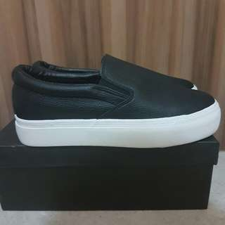 Black Slip-on