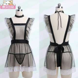 18SX see through lace Maid lingerie