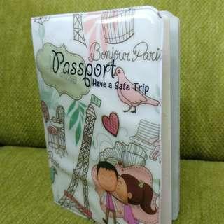 """""""Love in Paris"""" Passport Cover"""