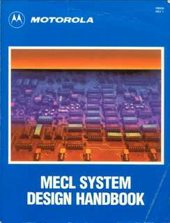 MECL system design handbook Paperback - 1988