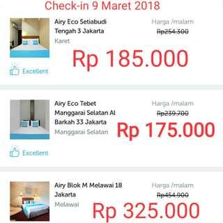 Hotel Murah Airy Rooms Jakarta Selatan