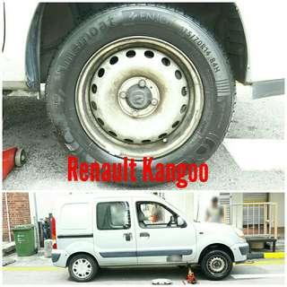Tyre 175/70 R14 Membat on Renault Kangoo 🐕 Super Offer 🙋♂️