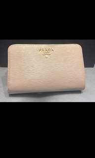 Prada beige wallet