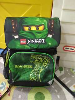 LEGO ninjago school bag