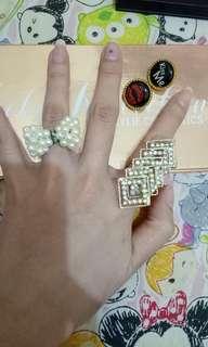 Ring, earing premiun