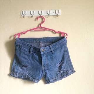 Ripped Summer Shorts