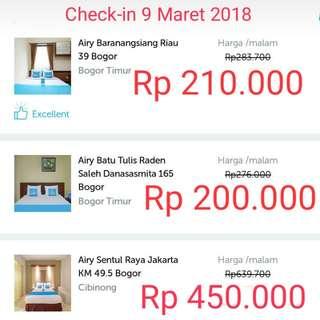 Hotel murah Airy Rooms Bogor