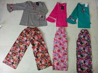 Setelan Baju Gamis Anak