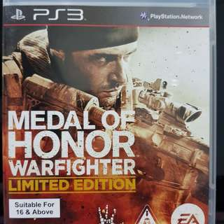 PS3 Game Medal of Honor