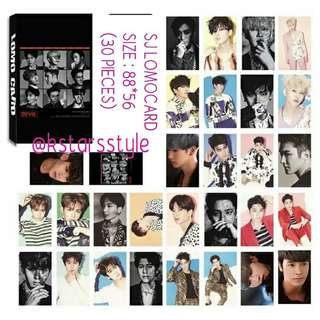 529 SUPER JUNIOR LOMOCARD💫