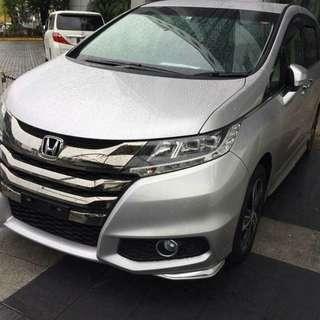 Honda Odyssey Absolute 2014 Unreg