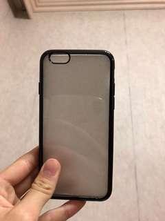 iPhone 6/6s手機套+螢幕保護貼+手機架