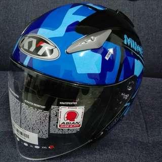 Kyt helmet Hellcat single visor
