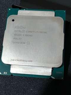 Intel i7- 5820K
