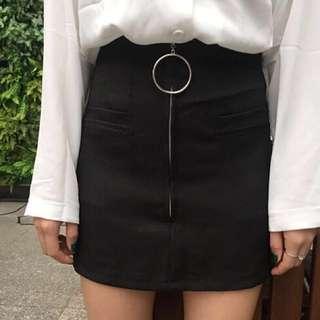 Minimalist A-line skirt