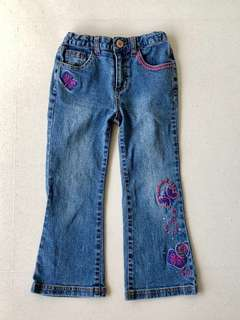 Girl's Blue Denim Jeans