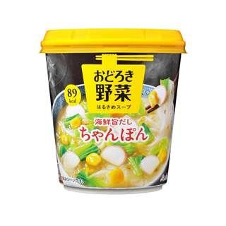 (全新訂購) 日本製造 ASAHI 野菜海鮮粉絲杯 24.9g (原盒6杯裝)