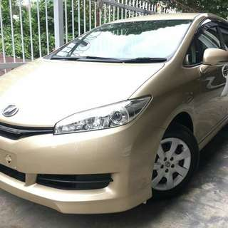 Toyota Wish X 2012 Unreg