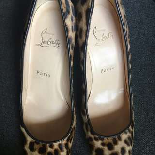 Christian Louboutin Morphing 100mm pumps Leopard print