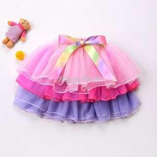 New Girl Pink skirt 女童 半截裙