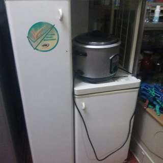 Cabinet with Rice Cooker Outlet
