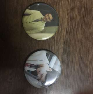 Lee jong suk and park bo gum badges