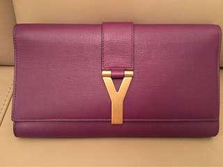 YSL 紫色手包,real