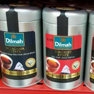 Dilmah罐裝三角立體茶包