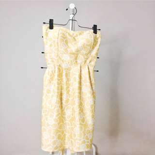 Yellow Summer Sun Dress by Get Laud • Sale Discount