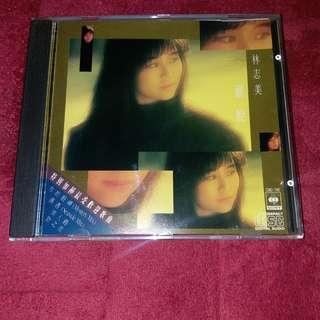 林志美 灑脱 1988年CBS SONY CD MADE IN JAPAN