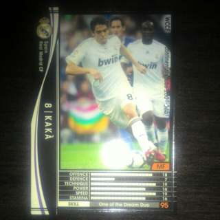 FOOTBALL CARD KAKA 2009