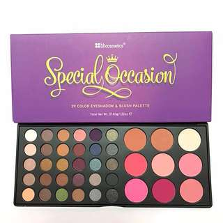 BH Cosmetics Special Occasion Eyeshadow + Blush Palette