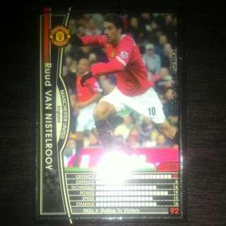 FOOTBALL CARD VAN NISTELROOY 2004