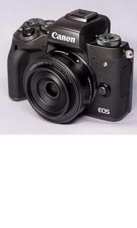 Canon EOS M5 & 22mm f2 & EF adaptor