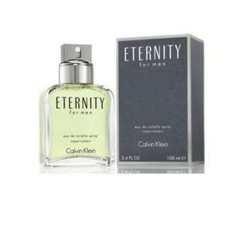 BRAND NEW FREE DELIVERY - CK Eternity for Men 100ml - ORIGINAL MADE IN USA