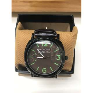Jam Tangan Luminor Panerai Green Dial
